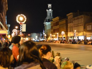 Greenville Hometown Holiday Horse Parade