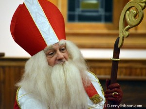 Saint Nicholas at Dickens of a Christmas
