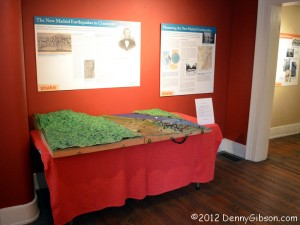 Betts House - Big Shake Exhibit