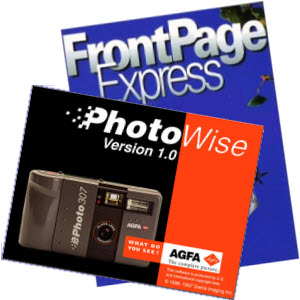 PhotoWise and FrontPage Express