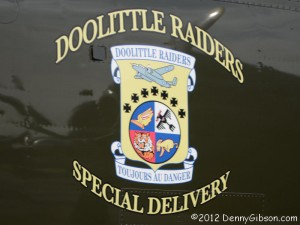 Doolittle Raiders Special Delivery