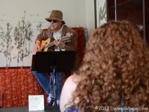 Gary Sugarman at Essencha Tea House