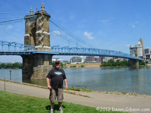 Fred Zander at Roebling Bridge
