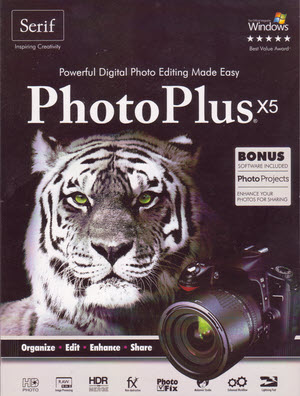 Serif PhotoPlus X5 package