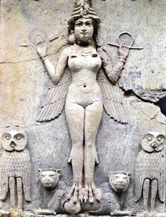 Ishtar, Babylonian goddess of love and war