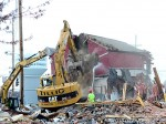 Twenty Mile House demolition