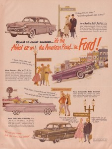 1952 Ford advertisement