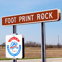 Foot Print Rock, National Road, OH