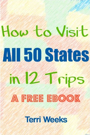 How to Visit All 50 States in 12 Trips cover