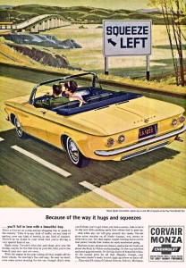 1964 Corvair ad