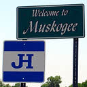 JH sign at Muskogee, OK